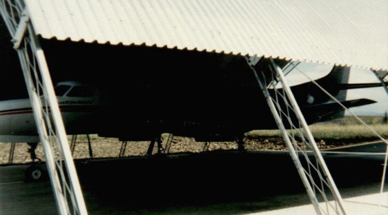 Open Aircraft Hangar